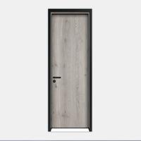 Modern Ecological Interior Door Flat open MDF Laminated Door composite materials