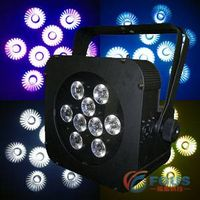 9x8W 4 in 1 Battery & Wireless LED Flat Par WiFREE MagiCube Q9