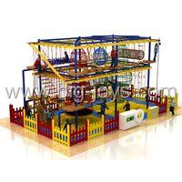 kids soft wood children indoor playground equipment thumbnail image