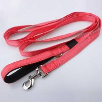 Eco-Friendly Feature Wholesale Dog leash with Nylon Material And Classic Solid Color thumbnail image