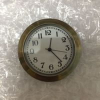 1 7/16 inch antique brown clock inserts