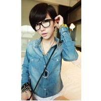 Classical Style Jeans Fashion Shirt,Whlesale Womens Jeans thumbnail image