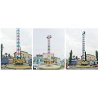 thrilling theme park rides jumping frog mini tower frog jumping
