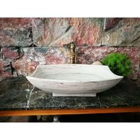 natural stone marble bathroom sinks
