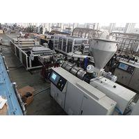 pvc roof tile making machine/pvc roof tiles extrusion machine thumbnail image