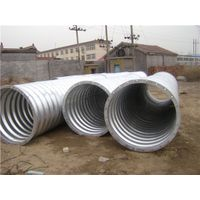 assembled corrugated steel pipe price in China