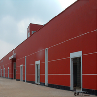 prefab factory building steel structure poultry warehouse construction materials