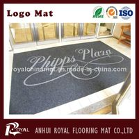 Rubber Backed Anti-Slip Logo Mat, Rubber Mat