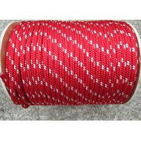 4mm-16mm nylon solid diamond double braided rope code line
