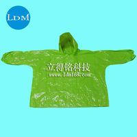 0.025mm disposable rain gear