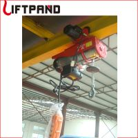 Min hoist electric winch 4 moves with trolley