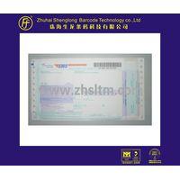 EMS barcode  waybill