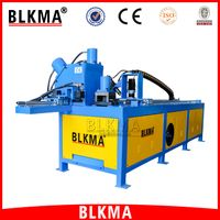 BLKMA Portable Combined Angle Steel Flange Forming Punching Machine Production Line
