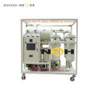 High Efficient Turbine Oil Purifier Oil Purification For Turbine Oil lubrication oil thumbnail image