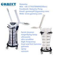Galvanic/scrubber/vacuum/hot spray/brush/high frequency/ultrasonic/ Multi-functional Beauty Apparatu