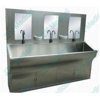 medical scrub sink station for hospital using