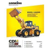 Lonking 5t wheel loader CDM855EK