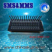 16 port gsm modem for bulk sms, RJ45/USB sms gsm modem