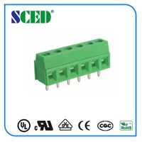 PCB Screw terminal block 3.81/5.08mm China supplier