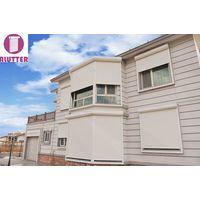 Roller shutter window