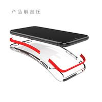 PULOKA High Quality Soft TPU Anti Fall Mobile Phone Case For iphone X iphone 7/8 Samsung S9 NOTE8