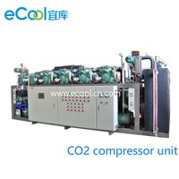 CO2 And Freon Cascade Compressor Unit