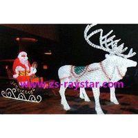 zhongshan raystar Santa Claus 2000leds 220v IP44 for christmas day