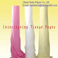 Interleaving Separated  Tissue Paper