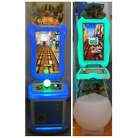 Ticket redemption lottery games subway suffer / Parkour simulator video game machine with capsule to