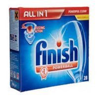 Finish Powerball All in 1 Dishwashing tablets 56pcs, Finish Powerball All in 1 Lemon Dishwashing tab thumbnail image