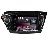 800*480 8inch Android 4.4 Car DVD Player Video For KIA K2 GPS Navigation 8G Wifi
