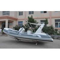 17ft hypalon boat rigid inflatable boat