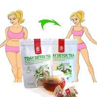 21teabag/Bag 7 Days Detox Tea Natural Laxatives Tea Detoxfying herbal drinks