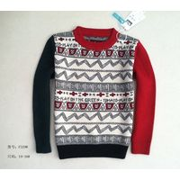new style kid knitting wear sweater boys