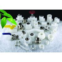 ppr plastic pipe fittings, elbow, sleeve thumbnail image