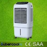 Household evaporative portable air cooler