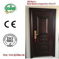 Nigeria Main Entrance Exterior Cheapest Steel Security Door Design