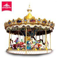vintage amusement park ride kids merry go round for sale thumbnail image