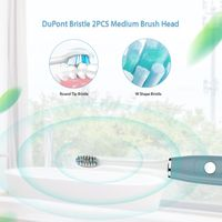 Sonic Electric Toothbrush with Smart Timer Accepted Rechargeable 5 Modes thumbnail image