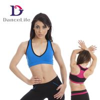 A2441 Wholesale Sexy Woman Tank Crop Tops for Gym and Dance