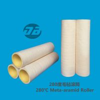 Nomex/meta aramid roller sleeve