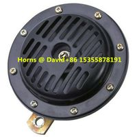 12V 110DB 130mm Disc horn motorcycle bicycle car automobile truck
