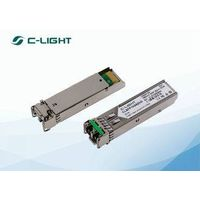 Duplex LC 1550nm SFP Optical Transceiver SFP ZX 1.25G 1000BASE ZX