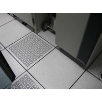 Steel anti-static perforated access floor