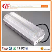 IP65 LED Emergency Bulkhead 3W 0.3m Maintained Surface Mounted Bulkhead with SAA TUV UL certificates thumbnail image