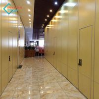 Cheap Movable Folding Partition Wall for Art Gallery