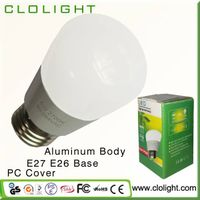 led lighting housing CRI 90 5W led globe bulb