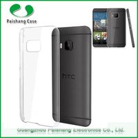 Wholesale mobile covers hard pc crystal case pc for HTC One M9