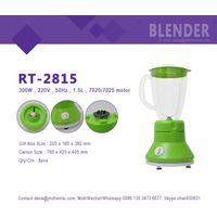HUI JIA RT-2815 Colorful kitchen food fruit blender