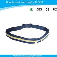 Running belt bag for waist pack